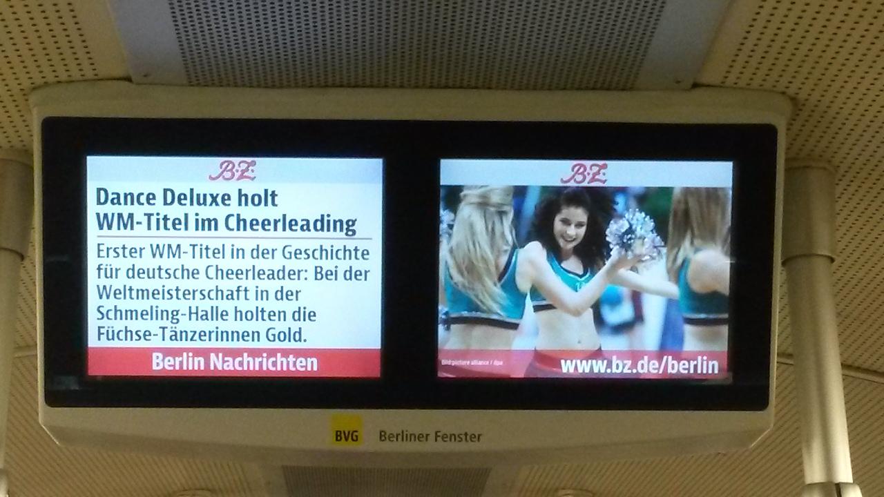 B.Z. berichtet groß in Printausgabe, online und im Berliner Fenster