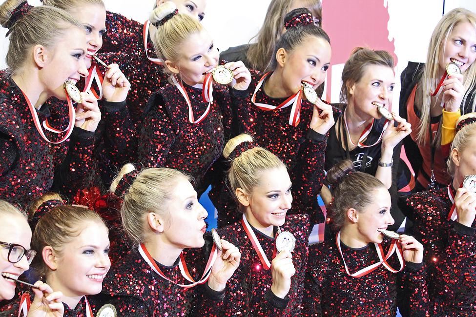 Dance Deluxe ist Weltmeister im Cheer Dance!