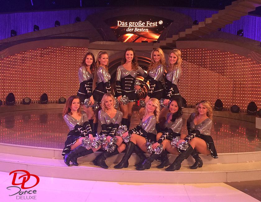 Dance Deluxe tanzte für die Stars der Schlagermusik live im ZDF