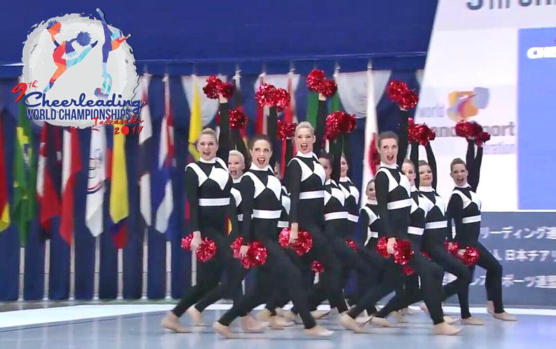 Cheerleading-WM 2017 – Teil 2: Die offizielle Stellprobe